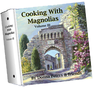 Cooking With Magnolias III by Donna Peters