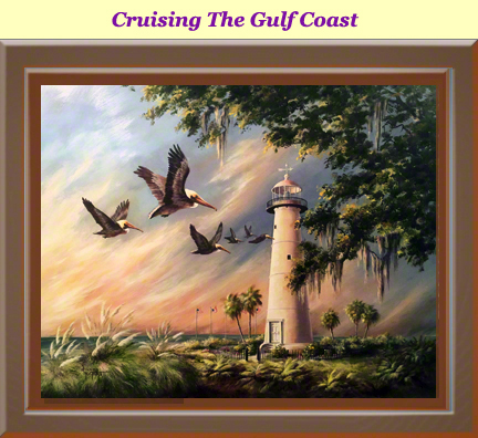 Cruising The Gulf Coast by Donna Peters
