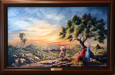Tell Me The Stories of Jesus by Donna Peters, artist