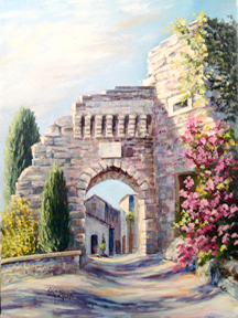 Portals of Provence by Donna Peters