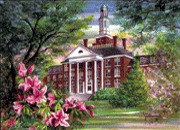 Jewett Hall of Judson College by Donna Peters