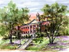 McWhorter School of Pharmacy, Birmingham, AL by Donna Peters