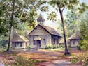 Possum Trot Church by Donna Peters