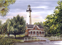 St Simons Light by Donna Peters
