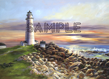 The Boston Light by Donna Peters