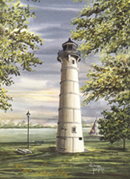 Peche Island Light