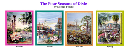 Four Seasons by Donna Peters