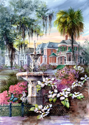 Springtime In Dixie by Donna Peters