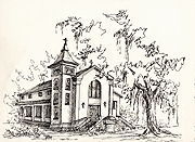 St Margarets of Bayou La Batre by Donna Peters