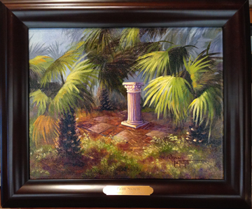 Palm Secrets by Donna Peters, artist