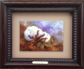 Cotton Time by Donna Peters, artist